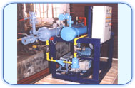 air conditioned, ammonia absorption, refrigeration system